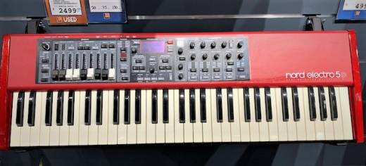 NORD Electro 5 61-Note Semi Weighted Waterfall Keyboard
