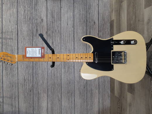 Fender 70th Anniversary Broadcaster with Maple Fingerboard - Blackguard Blonde