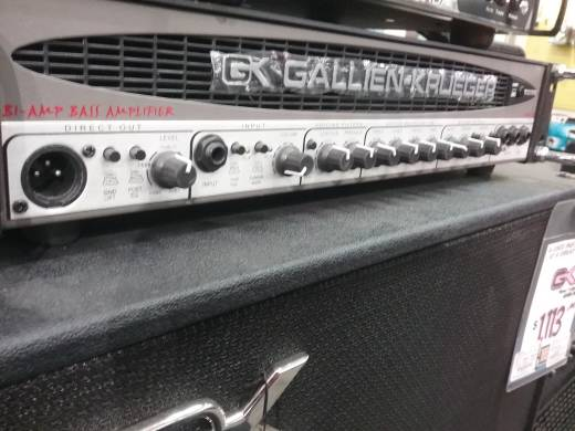 GK 700+50 watt Biamped Bass Amplifier