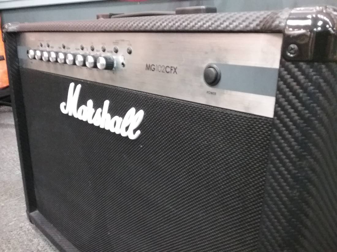 Marshall MG102CFX - 100 Watt 2x12 Amp with Effects