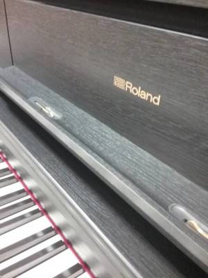 Store Special Product - Roland LX705 Digital Piano w/Stand & Bench - Charcoal Black
