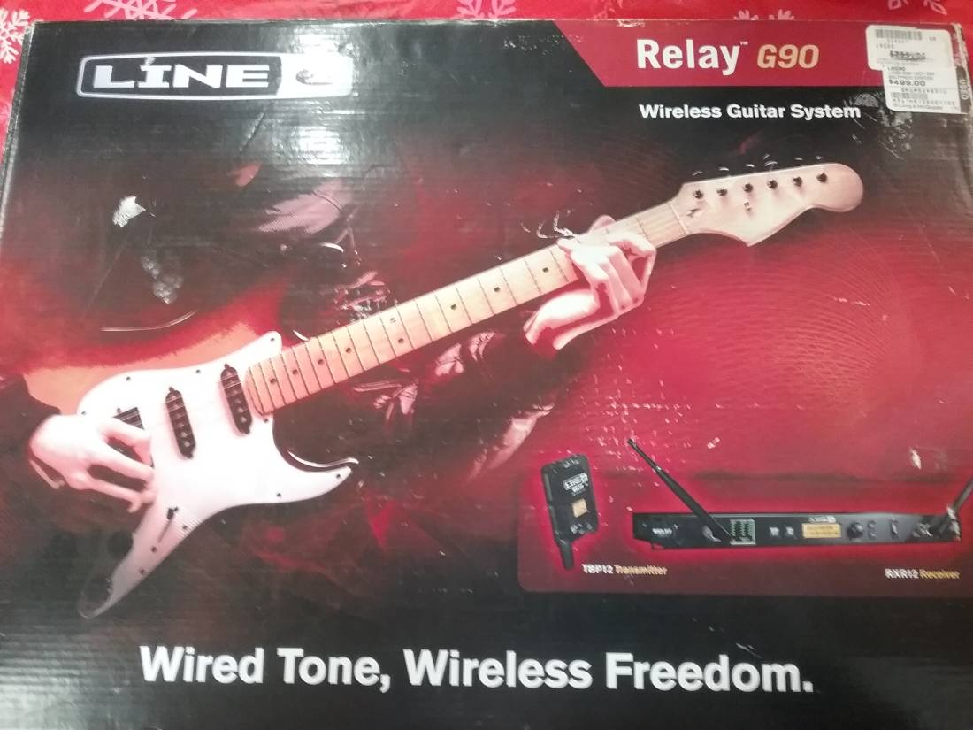 Store Special Product - Line 6 300-Foot Wireless Guitar System