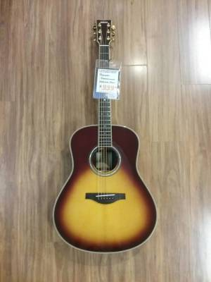 Yamaha TransAcoustic Original Jumbo Guitar - Brown Sunburst