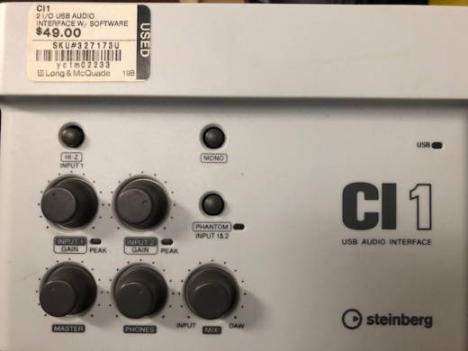 Steinberg CI1 - 2 I/O Audio Interface