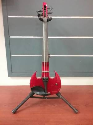 Wood Violins Stingray 4-String Electric Violin - Red