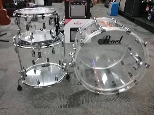 Pearl Crystal Beat 3-Piece Shell Kit - Clear