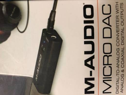 M-Audio Micro DAC USB Digital-to-Analog Converter