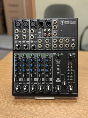 8 Channel Ultra Compact Mixer