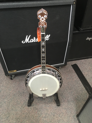 GOLDTONE IRISH TENOR SHORT SCALE BANJO