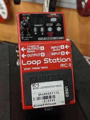Store Special Product - RC-3LS - Loop Station