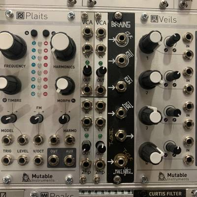 2HP VCA eurorack voltage controlled amplifier