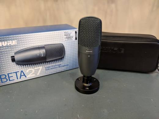 Beta 27 Supercardioid Instrument Microphone