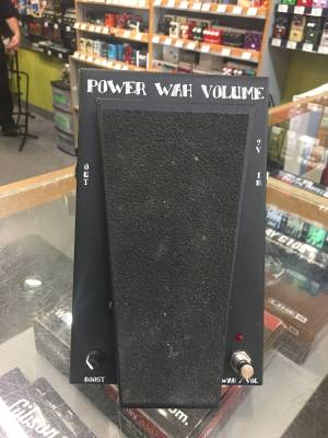 Power Wah with Volume and True Bypass