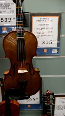 Stentor 4/4 violin outfit