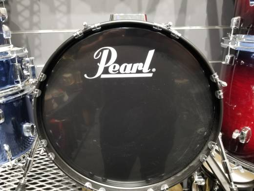 Pearl Roadshow 4-Piece Drum Kit (18,10,14, Snare) - Deep Sea