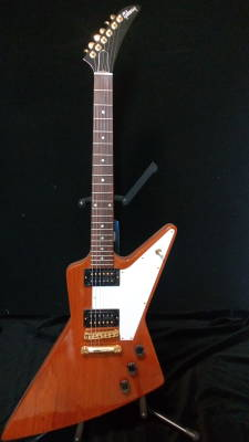 Gibson Explorer '76  Natural w/Gold Hardware Ltd