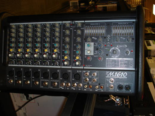 Micromix   1600-Watt  10-Channel Powered Mixer