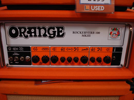Rockerverb MK III 100 Watt Head - Orange