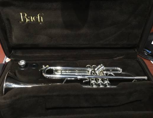 Store Special Product - 180S37 Series - Silver Plated Bb Trumpet