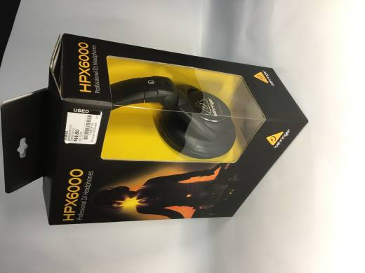 Store Special Product - HPX6000 High Defintion DJ Headphones