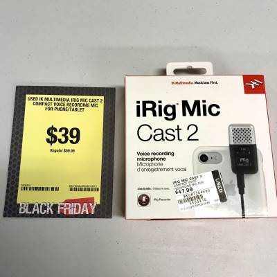 IK Multimedia - IRIG MIC CAST 2