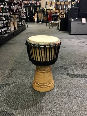 Hand-Carved Djembe - Medium