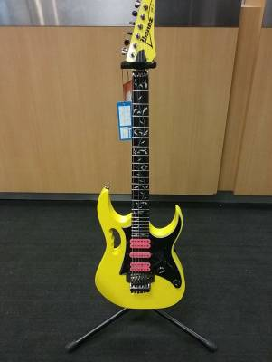 JEM Junior Electric Guitar with Vine Inlay - Yellow