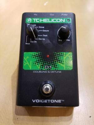 TC HELICON VOICETONE D1 Doubling and Detune Vocal Processor