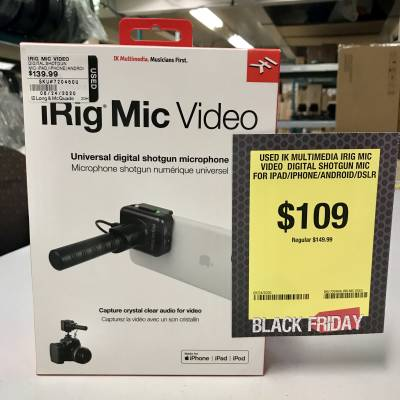IK Multimedia - IRIG MIC VIDEO