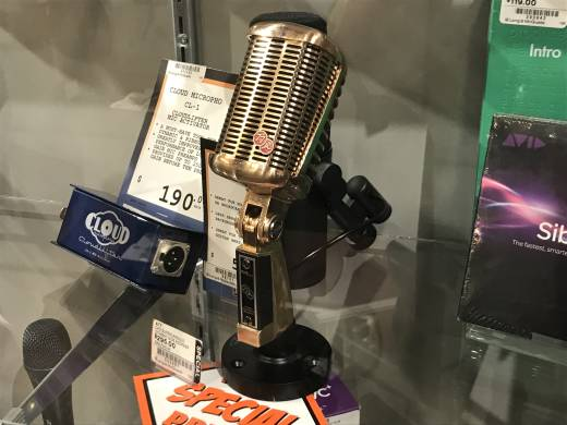A77 Supercardioid Dynamic Side Address Microphone