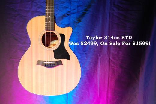 Store Special Product - Taylor Grand Auditorium Sitka/Sapele Acoustic/Electric Guitar w/Case