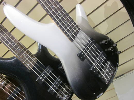 Ibanez SR Electric 5-String Bass - Iron Pewter