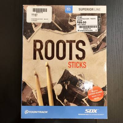 Toontrack - Roots Sticks SDX
