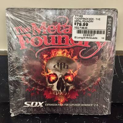 The Metal Foundry SDX  (Expansion Pack for Superior Drummer 2)