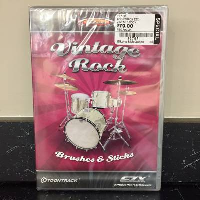 EZX Vintage Rock (Expansion Pack for EZ Drummer)