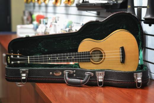 Store Special Product - Kala Spruce/Myrtle Elite Super Tenor Ukulele with Case & Humidifier