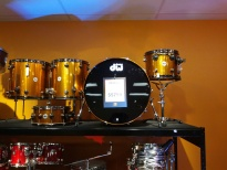 DW Maple/Mahogany drum kit