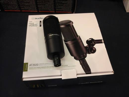 Store Special Product - AT2020 Condenser Microphone
