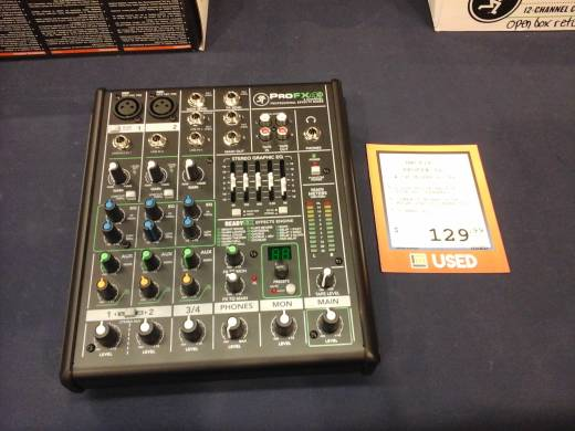 Store Special Product - 4-Channel Professional Effects Mixer