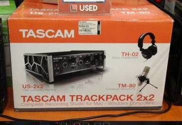 Tascam recording bundle