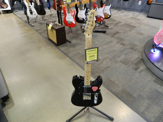 American Special Telecaster, Maple Neck with Bag - Black