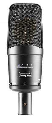 ART Pro Audio C2 Cardioid Side Address Studio Microphone with Pad & Roll Off