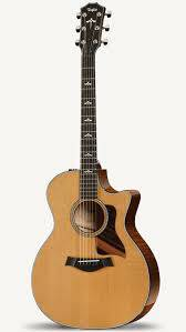 TAYLOR AUDITORIUM SPRUCE/MAPLE CUT/ELE W/CASE