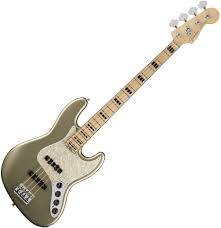 Fender American Elite Jazz Bass - Champagne