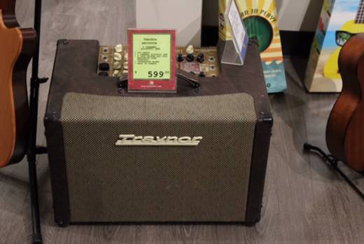 3-Channel Stereo Acoustic Guitar Amp - 225 Watts