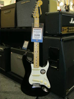 Store Special Product - LE Standard Stratocaster HSS - Black
