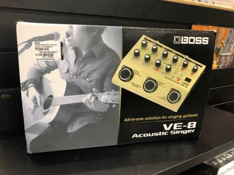 VE-8 Acoustic Singer Vocal Processor