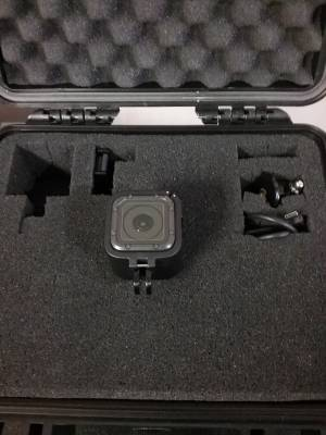 GO PRO -Hero 5 Session with hardshell case
