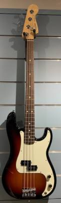 Store Special Product - Fender American Professional Precision Bass Rosewood Fingerboard - 3-Colour Sunburst