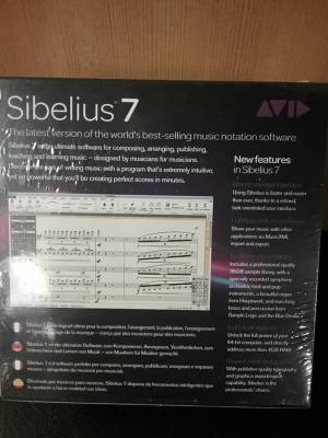 Store Special Product - Sibelius -7 Academic Version - Plus PhotoScore Ultimate